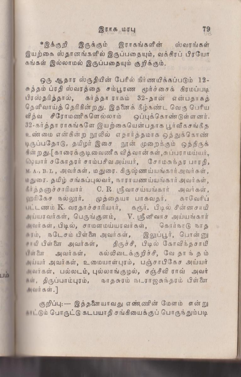 First lesson in carnatic music - Tamil Brahmins Community