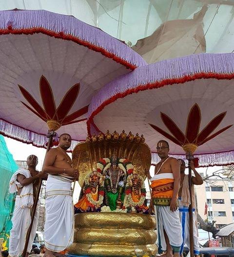 Sri Narasimhar Brahmotsavam Day 2 Morning Sesha Vaghanam.jpg