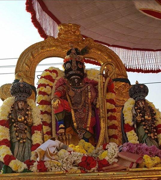 Thai Poosam Kathir Alangaram Sri Parthasarathy Purapadu