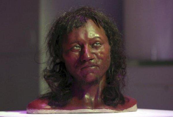 DNA suggests 10,000-year-old Brit had dark skin, blue eyes