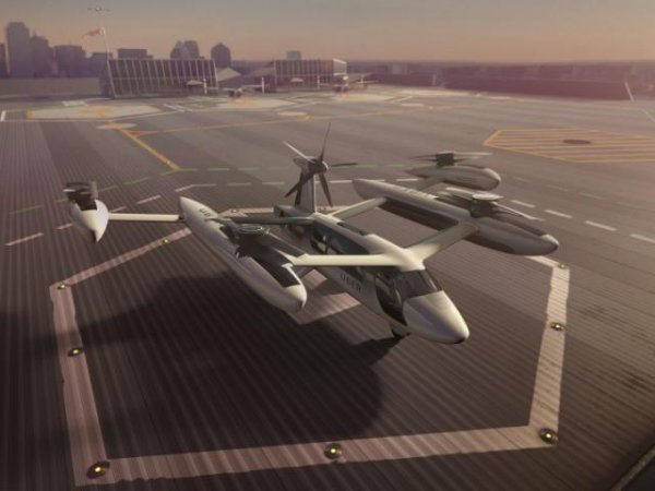 Uber reveals its flying taxi prototype