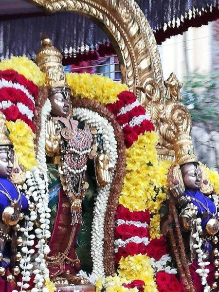 Triplicane Sri Parthasarathy Temple - Sri Gajenravarathar Hastham Purapadu
