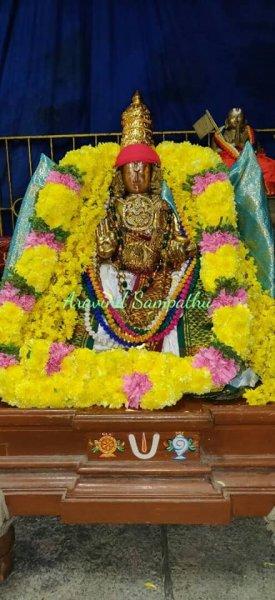 Sri Kanakavalli Nayika Samedha Sri Vaidhya Veeraraghava Swamy Pagal Pathu Utsavam