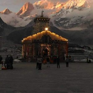 Holy kedarnath shrine