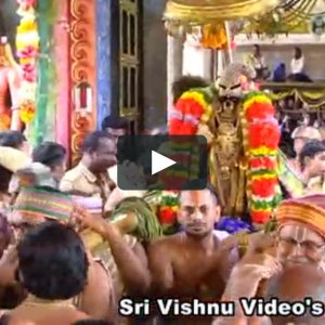 Srirangam Vaikunta ekadasi Rapathu 5th Day